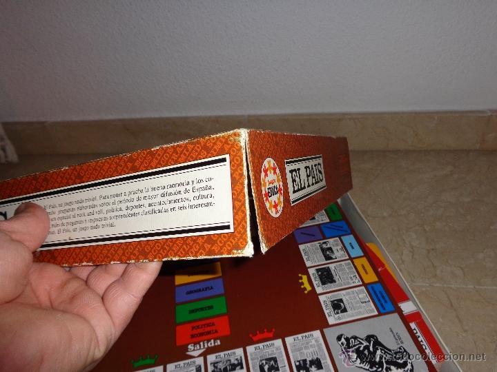 Juegos educativos: EL PAIS - EL JUEGO DE LA READACCIÓN, UN JUEGO NADA TRIVIAL AÑO 1985 COMPLETO, 111-1 - Foto 18 - 42378079