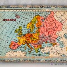 Juegos educativos: ANTIGUO ROMPECABEZAS CUBOS GEOGRAFICOS * MAPA EUROPA * ESPAÑA * AFRICA * AMERICA * OCEANIA * ASIA *. Lote 42517069