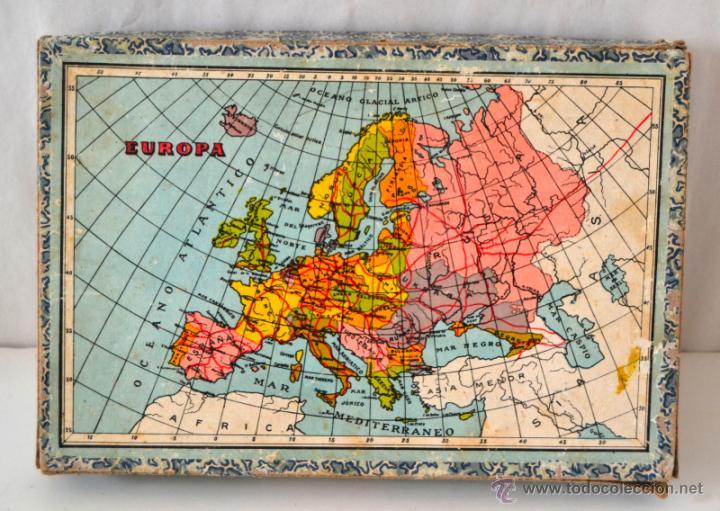 Juegos educativos: ANTIGUO ROMPECABEZAS CUBOS GEOGRAFICOS * MAPA EUROPA * ESPAÑA * AFRICA * AMERICA * OCEANIA * ASIA * - Foto 4 - 42517069