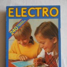 Juegos educativos: JUEGO ELECTRO 240 PREGUNTAS Y RESPUESTAS DISET. Lote 43100200