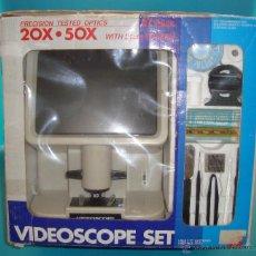 Juegos educativos: VIDEOSCOPE SET 20X 50X PANTALLA DE 21CM. Lote 53503725