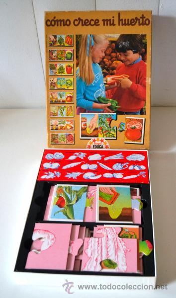 Juegos educativos: Como crece mi huerto * juegos educa * ref 3866 * completo - Foto 2 - 44176234