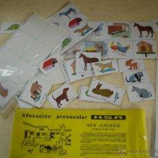 Juegos educativos: EDUCACION PREESCOLAR H.S.R. - SERIE 6 - LA GRANJA. Lote 44314664