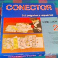 Juegos educativos: ANTIGUO JUEGO CONECTOR 2 . 312 PREGUNTAS Y RESPUESTAS. AÑOS 70. Lote 44705353