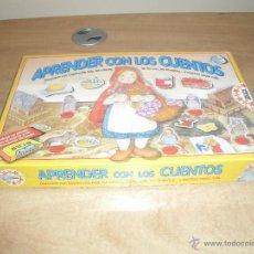 Juegos educativos: APRENDER CON LOS CUENTOS. EDUCA. 1994. REF. 3.105. NUEVO Y PRECINTADO. VINTAGE. Lote 45302044