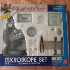 Juegos educativos: ESTUCHE MICROSCOPICO 100X 900 ZOOM.EDU-TOYS. Lote 45496217