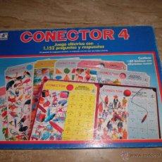 Juegos educativos: CONECTOR 4 DE BORRAS CON 29 FICHAS POR LAS DOS CARAS FUNCIONA BIEN . Lote 45982442