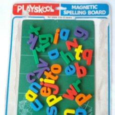 Juegos educativos: PIZARRA MAGNETICA PLAYSKOOL COMPLETA AÑOS 80. Lote 46513432