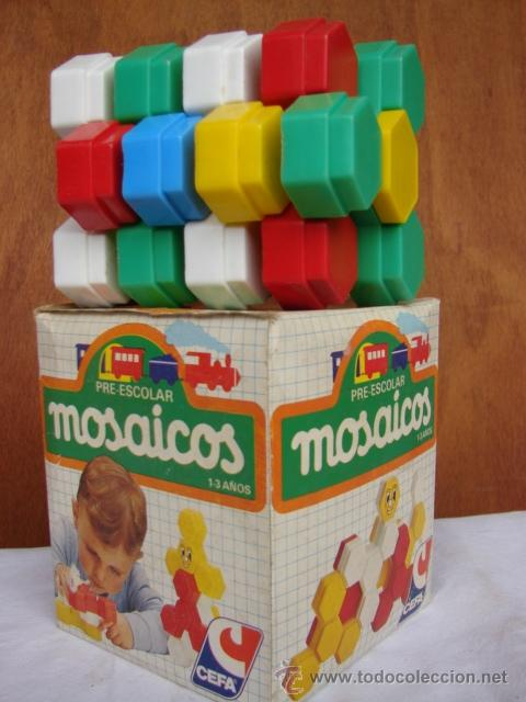 Pre Escolar Mosaicos De 1 A 3 Anos Cefa Comprar Juegos