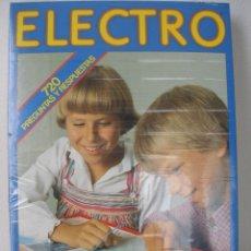 Juegos educativos: ELECTRO 720 PREGUNTAS Y RESPUESTAS , DISSET AÑOS 70 , PRECINTADO. Lote 81259963