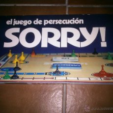 Juegos educativos: EL JUEGO DE PERSECUCIÓN .SORRY.BORRAS SIN USAR.2 A 4 JUGADORES. Lote 46685202