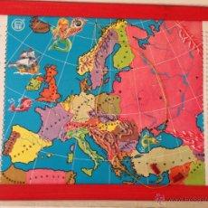 Juegos educativos: ESTUDIANDO GEOGRAFIA, MAPA EUROPA. Lote 46948923