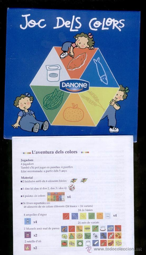 Juegos educativos: JOC DE COLORS DE LES 3 BESSONES (DANONE 2005) - Foto 1 - 46964377