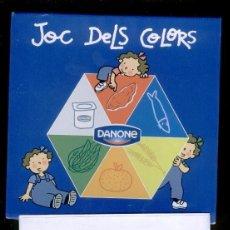Juegos educativos: JOC DE COLORS DE LES 3 BESSONES (DANONE 2005). Lote 46964377