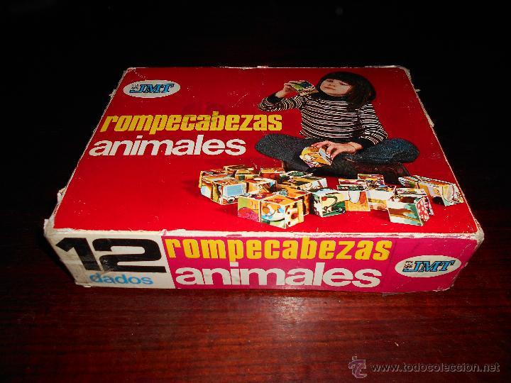 ROMPECABEZAS ANIMALES EDICIONES JMT AÑOS 70 RARO (Juguetes - Juegos - Educativos)