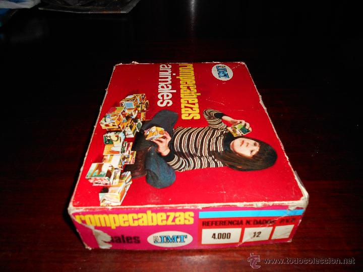 Juegos educativos: Rompecabezas ANIMALES EDICIONES JMT Años 70 RARO - Foto 4 - 47285982