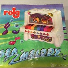Juegos educativos: REIG PIANO SEA MELODY AÑOS 80, FABRICADO EN ESPAÑA. Lote 47327367