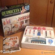 Juegos educativos: QUIMICEFA 1 JUEGO EDUCATIVO QUÍMICA INFANTIL CEFA TOYS ANTIGUO VINTAGE A ESTRENAR. Lote 47462294