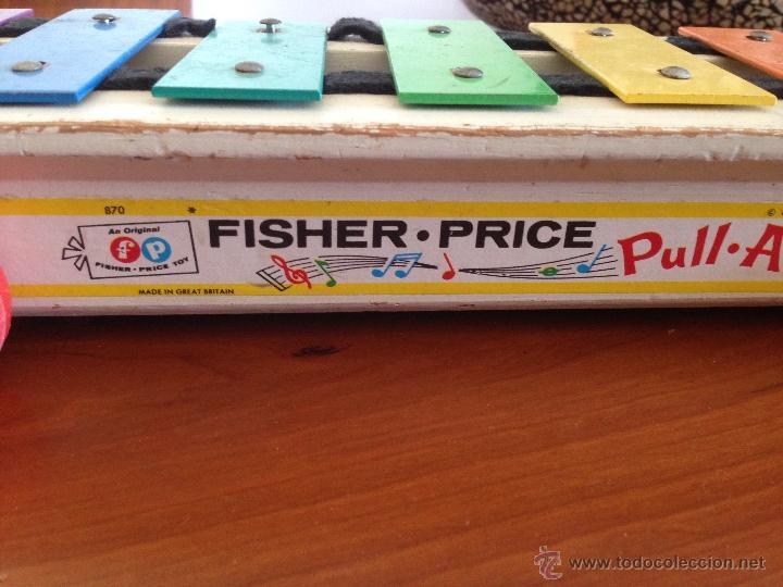 Juegos educativos: Antiguo Xilofono Correpasillos Fisher Price - Foto 3 - 47550900