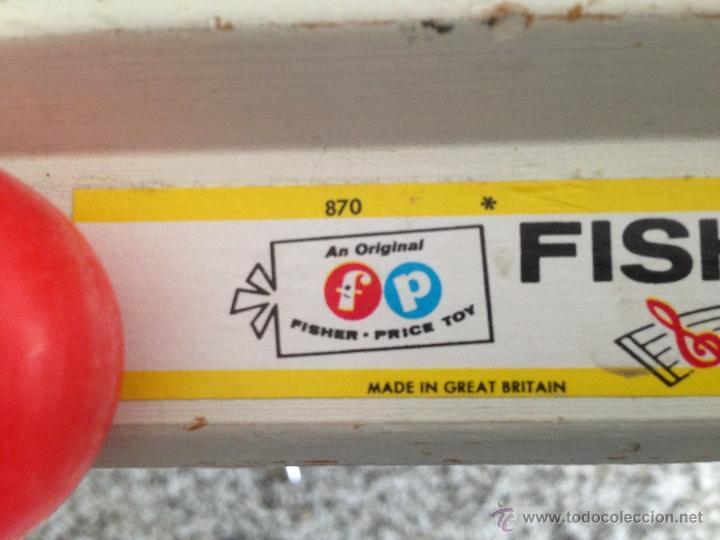 Juegos educativos: Antiguo Xilofono Correpasillos Fisher Price - Foto 5 - 47550900