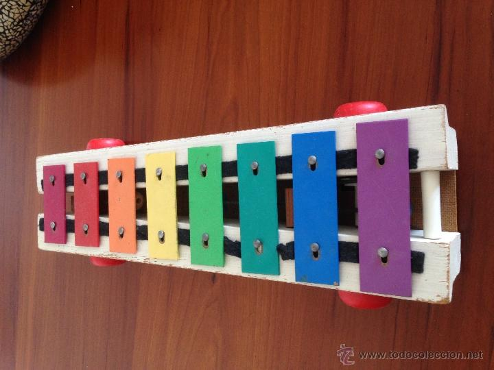 Juegos educativos: Antiguo Xilofono Correpasillos Fisher Price - Foto 6 - 47550900