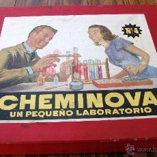 Juegos educativos: CHEMINOVA. Nº 4. LABORATORIO. Lote 47792763