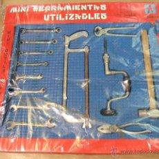 Juegos educativos: 13 MINI HERRAMIENTAS UTILIZABLES CONESA REF. 200. Lote 47813961