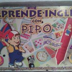 Juegos educativos: JUEGO APRENDE INGLÉS CON PIPO.. Lote 47926633