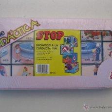 Juegos educativos: STOP - INICIACIÓN A LA CONDUCTA VIAL - ROMPECABEZAS DE CUBOS DE PLÁSTICO - DALMAU CARLES PLA.. Lote 47939337