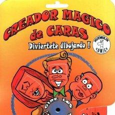 Juegos educativos: CREADOR MAGICO DE CARAS COMICS 12000 COMBINACIONES. Lote 48032870
