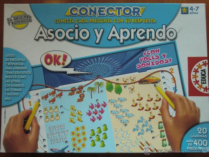 Juego De Mesa Educativo Conector Asocio Y Apre Comprar Juegos