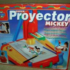 Juegos educativos: SUPER PROYECTOR MICKEY. Lote 89048575