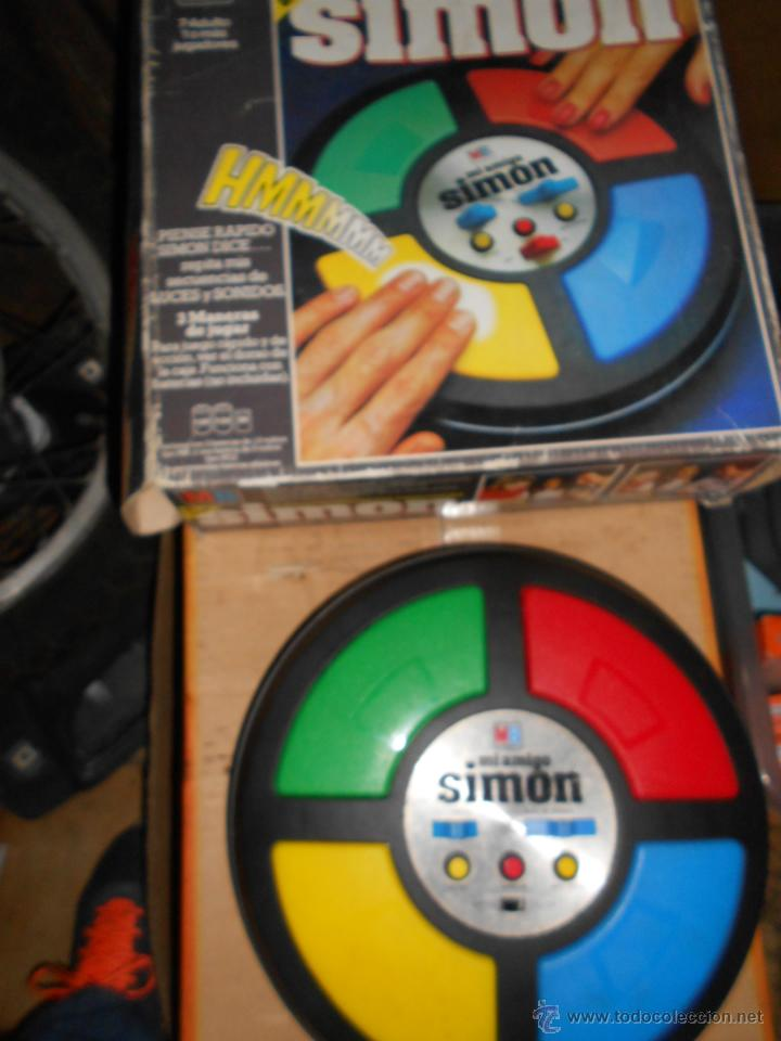 Antiguo Simon Mb Comprar Juegos Educativos Antiguos En