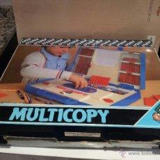 Juegos educativos: ANTIGUO JUEGO MULTICOPY DE FEBER AÑOS 70 VER FOTOS. Lote 49197049