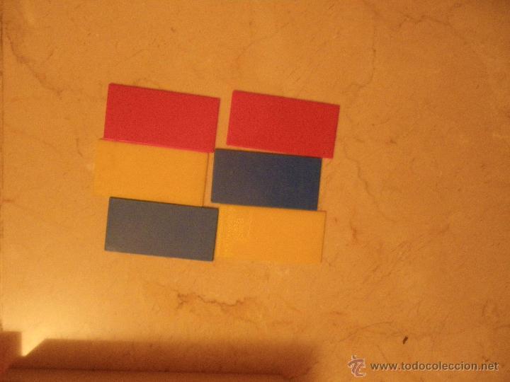 Juegos educativos: Material didáctico matemáticas EGB. Ed.Diagonal. Regletas Cuisinaire y juego figuras (falta 1 círcul - Foto 4 - 61782500