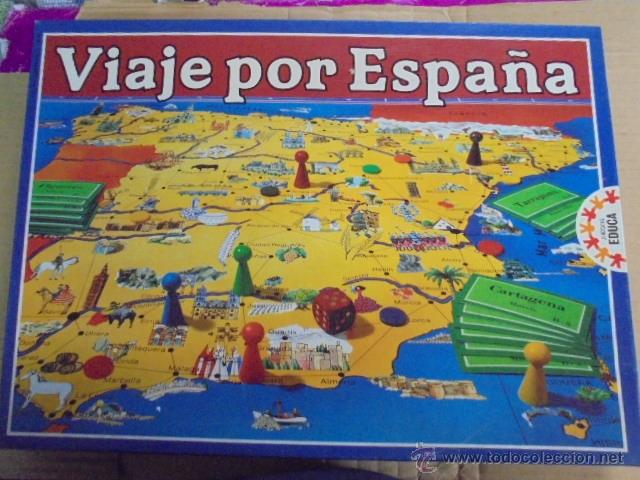 Educa Viaje Por Espana Anos 70 Aun Pre Comprar Juegos