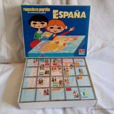 Juegos educativos: ESPAÑA. ROMPECABEZAS GEOGRÁFICO EN CUBOS DE PLÁSTICO.. Lote 49889302