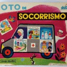 Juegos educativos: LOTO DE SOCORRISMO. DIDACTA. JUEGO EDUCATIVO. COMPLETO.. Lote 50081584