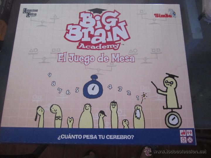 Juego De Mesa Big Brain Juego De Inteligencia Comprar Juegos
