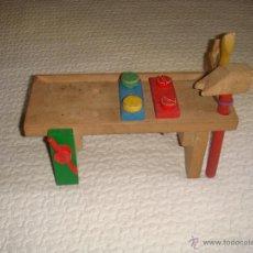 Juegos educativos: BANCO DE CARPINTERO INFANTIL. Lote 50585184
