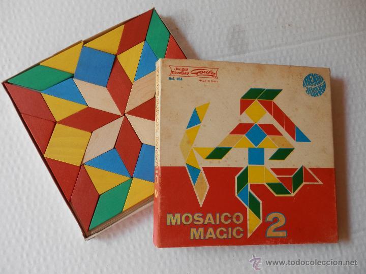 Mosaico piezas de madera muy bien pulidas p comprar - Mosaico de madera ...