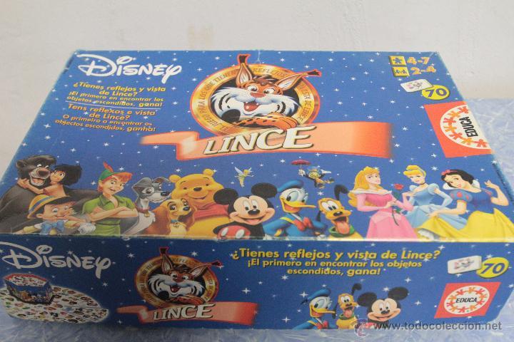 Educa Juego De Mesa Educativo Lince Disney Comprar Juegos