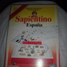 Juegos educativos: SAPIENTINO ESPAÑA CULTURA DE NUESTRO PAIS EN 660 PREGUNTAS.SONIDO ELECTRONICO.CLEMENTONI EDUCATIONAL. Lote 51428895
