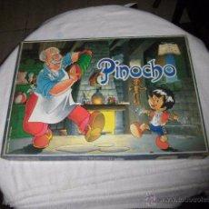 Juegos educativos: PINOCHO JUEGO DE MESA.COLECCION JUGANDO CON CUENTOS PRESCHOOL EDUCACIONAL 1992 COMPLETO. Lote 51429919