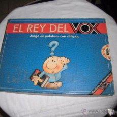 Juegos educativos: EL REY DEL VOX.JUEGO DE PALABRAS CON CHISPA.CONTIENE UN DICCIONARIO VOX JUEGO COMPLETO. Lote 51429989