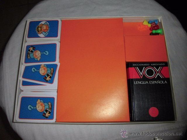 Juegos educativos: EL REY DEL VOX.JUEGO DE PALABRAS CON CHISPA.CONTIENE UN DICCIONARIO VOX JUEGO COMPLETO - Foto 4 - 51429989