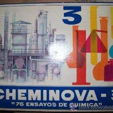 Juegos educativos: CHEMINOVA. Lote 51542501