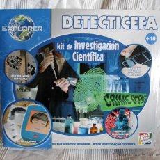 Juegos educativos: DETECTICEFA KIT DE INVESTIGACIÓN CIENTÍFICA CEFA TOYS. Lote 51694743