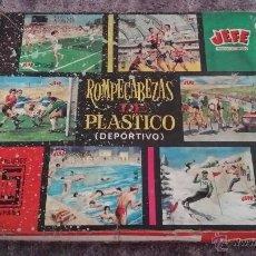 Juegos educativos: ANTIGUO PUZZLE DEPORTIVO DE CUBOS JEFE. Lote 51887483