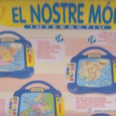 Juegos educativos: EL NOSTRE MON -- JOC INTERACTIU -- RECOMENAT PEL CLUB SUPER 3. Lote 52329455